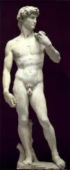 Davud, 1504, Mermer, 434cm, Akademi Galerisi, Florance, Italya(michalangelo)