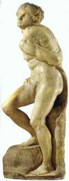 Rebellious Slave. c.1513-1516. Marble. The Louvre, Paris, France