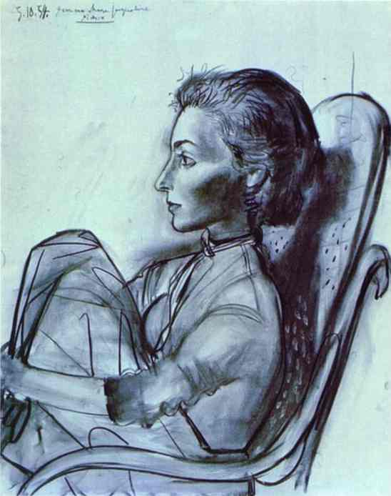 Picasso Jacqueline Roque Jacqueline Roque Picasso