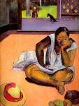 Te Faaturama (The Brooding Woman), 1891