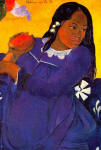 Vahine No te Vi (Woman with Mango), 1892