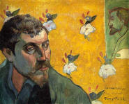 Self-Portrait Les Miserables, 1888