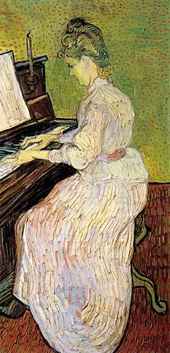 Vincent Van GoghMarguerite Gachet at the Piano, Auvers-sur-Oise, June 1890