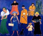 Fikret Mualla Mavi Fonlu Sokak 1961