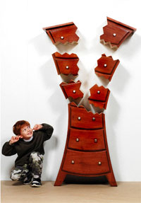 Cartoon-Inspired Furniture for Children by Judson Beaumont