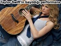 Taylor Swift'in bayıldığı performans