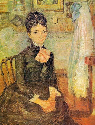 Vincent Van Gogh Woman Sitting by a Cradle, Paris, Spring 1887