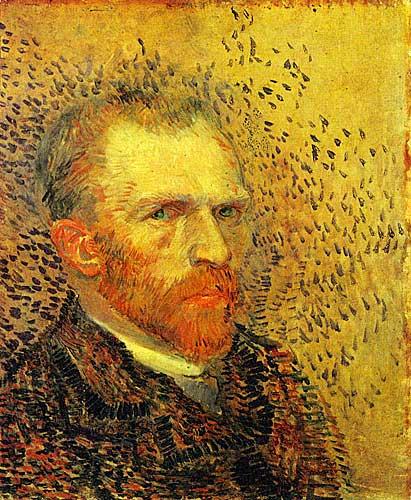 Vincent Van Gogh Self Portrait, Paris, Spring - Summer 1887