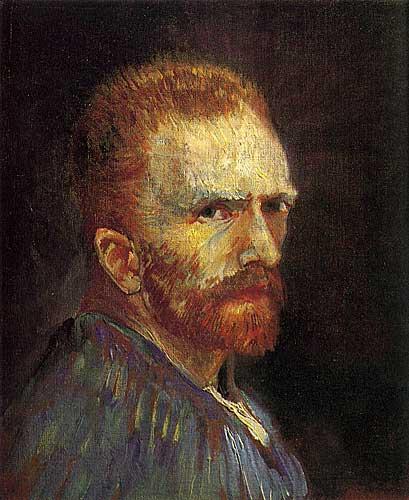 Vincent Van Gogh Self Portrait, Paris, Summer 1887
