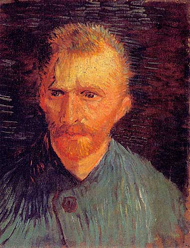 Vincent Van Gogh Self Portrait Paris Summer 1887