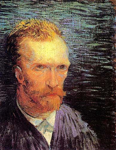 Vincent Van Gogh SelfPortrait, Paris, Summer 1887