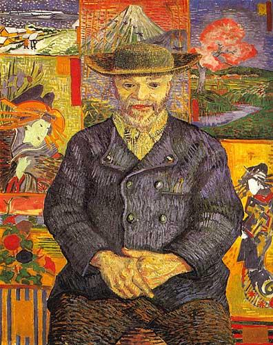 Vincent Van Gogh  Portrait of Pere Tanguy Paris Autumn 1887
