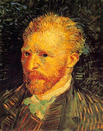 Vincent Van Gogh  SelfPortrait Paris Autumn 1887