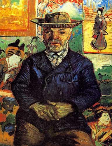 Vincent Van Gogh  Portrait of Pere Tanguy Paris Winter 1887