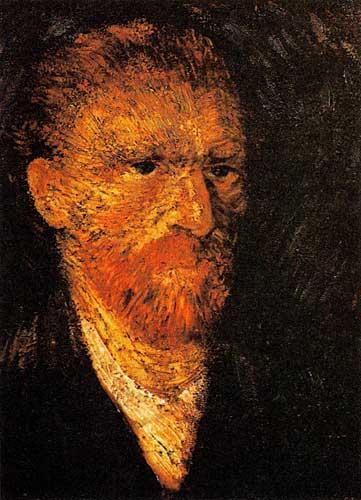 Vincent Van Gogh's Self Portraits, Paris, Winter 1887