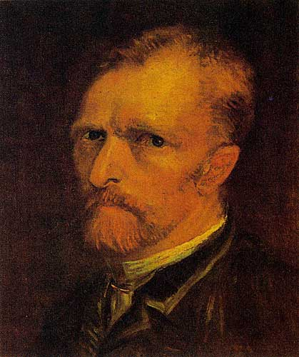 Vincent Van Gogh Self - Portrait, Paris, Autumn 1886