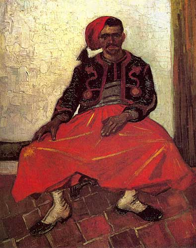 Vincent Van Gogh  The Seated Zouave, Arles, June 1888