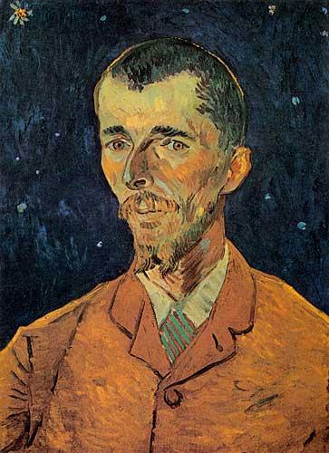 Vincent Van Gogh  Portrait of Eugene Boch Arles September 1888