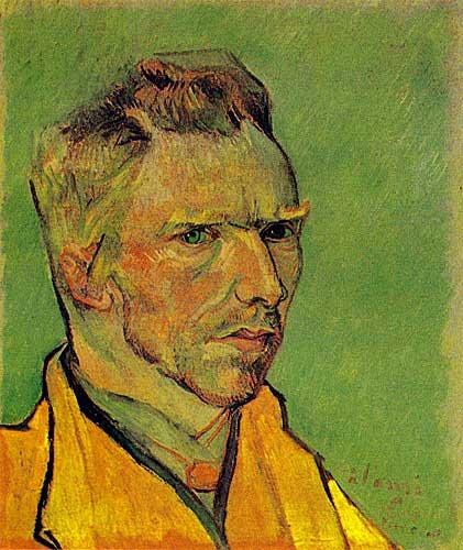 Vincent Van Gogh  Self Portrait, Arles, November - December 1887