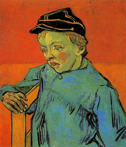 Vincent Van GoghThe Schoolboy Camille Roulin Sainte-Remy November - December 1888