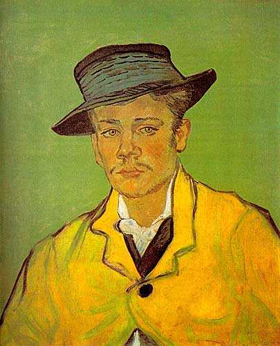 Vincent Van Gogh  Portrait of Armand Roulin, Arles, November - December 1888