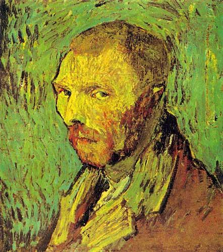 Vincent Van GoghSelf Portrait Saint Remy September 1889