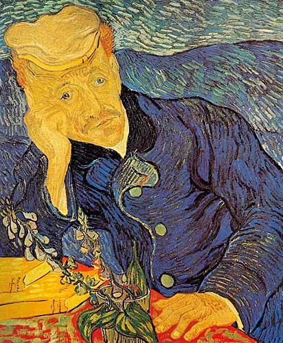 Vincent Van GoghPortrait of Doctor Gachet Auvers-sur-Oise June 1890