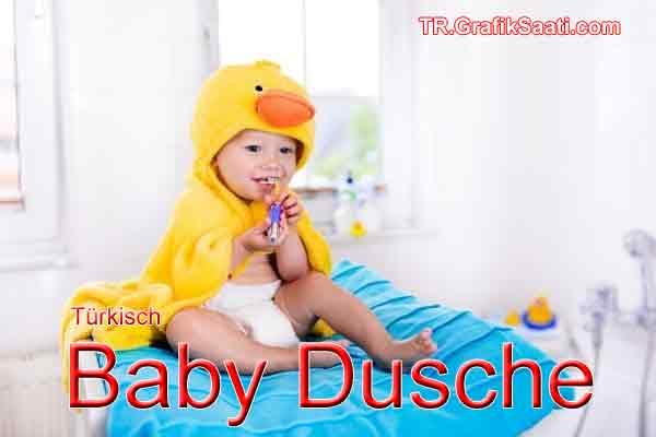 Türkisch Baby Dusche