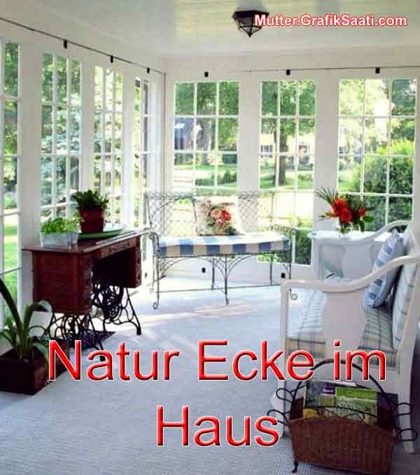 Natur Ecke im Haus