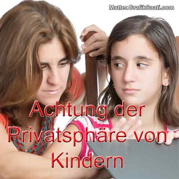 Achtung der Privatsphäre von Kindern