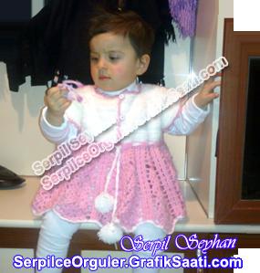 Serpilce.ile Serpilce örgüler örgü Tığ işi çocuk elbisesi modelleri