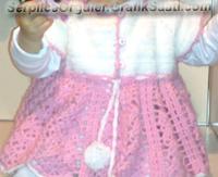 Serpil Seyhan ile Serpilce örgüler örgü Tığ işi çocuk elbisesi modelleri