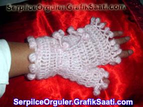 Serpilce.ile Serpilce örgüler örgü tığ işi eldiven örme teknikleri resimli anlatım
