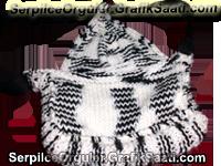 Serpil Seyhan ile Serpilce örgüler örgü kadın çantası modelleri