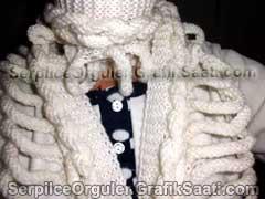 Serpilce.ile Serpilce örgüler örgü modelleri örnekleri kafesli atkı örgüsü