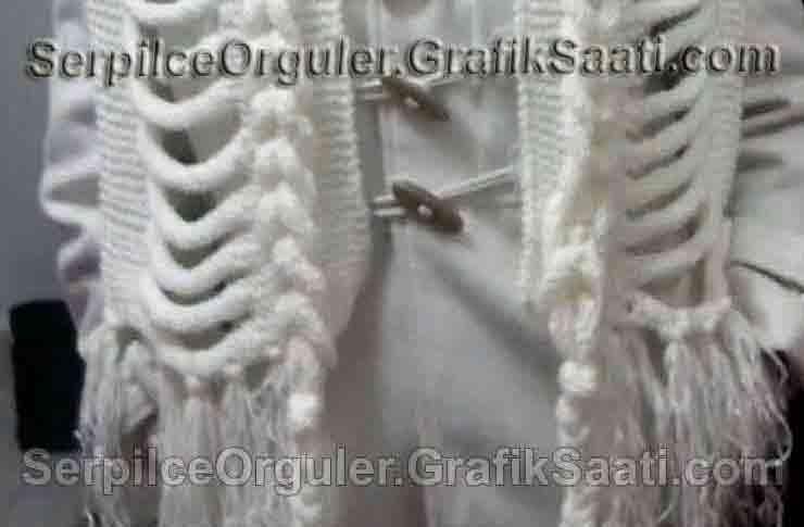 Serpilce.ile Serpilce örgüler örgü modelleri örnekleri modelli örgüler Çekilişte neler var - Kafesli atkı