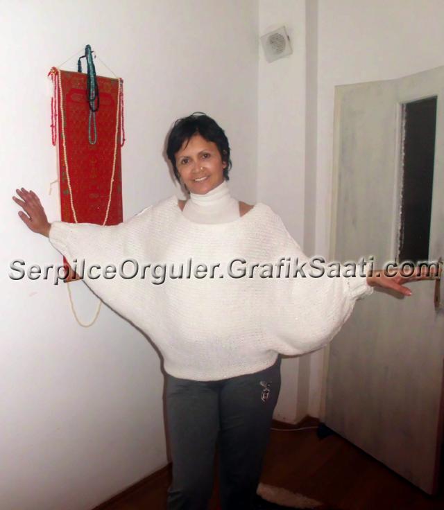 Serpilce.ile Serpilce örgüler resimli modelleri modelli Yeni panço kazak modelleri