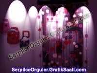 dekoratif perde örgüsü | Ev dekorasyonu için örgü çiçek modelleri
