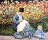 Oscar Claude Monet Madame Monet and Child. 1875 Bayan Monet ve çocuk