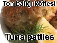 Ton balığı köftesi - Tuna patties tarifi