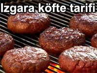 Izgara köfte tarifi Barbekü yapımı