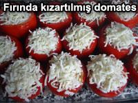 Fırında kızartılmış domates tarifi - Fırında kızarmış peynirli sarımsaklı domates | Garnütür
